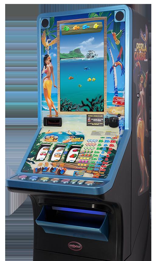 Nueva máquina recreativa hosteleria de UNIDESA